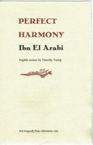 Perfect Harmony title page