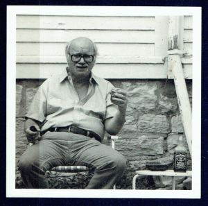 Dave Etter – author photo from Electric Avenue (Spoon River Poetry Press, 1988)